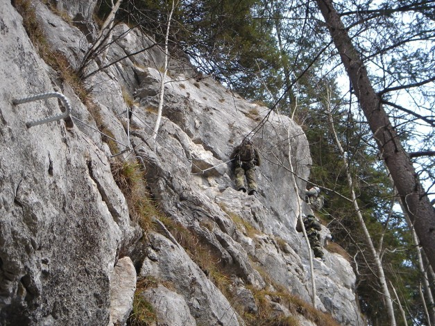 Foto 2 zur Tour: Klettersteig Wei�e Gams
