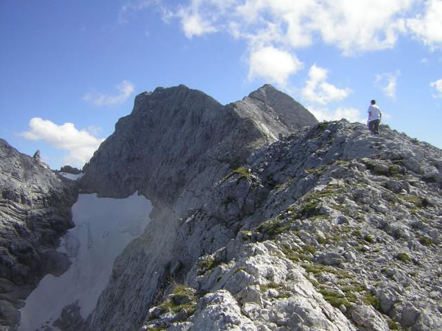 Foto 4 zur Tour: Hochkalter �ber Blaueis + Sch�rtenspitze �berschreitung