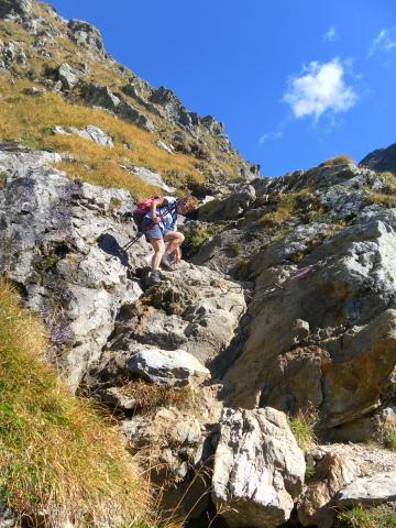 Foto 2 zur Tour: Waldhorn und Greifenberg; von der Preintalerh�tte zur Gollingh�tte.