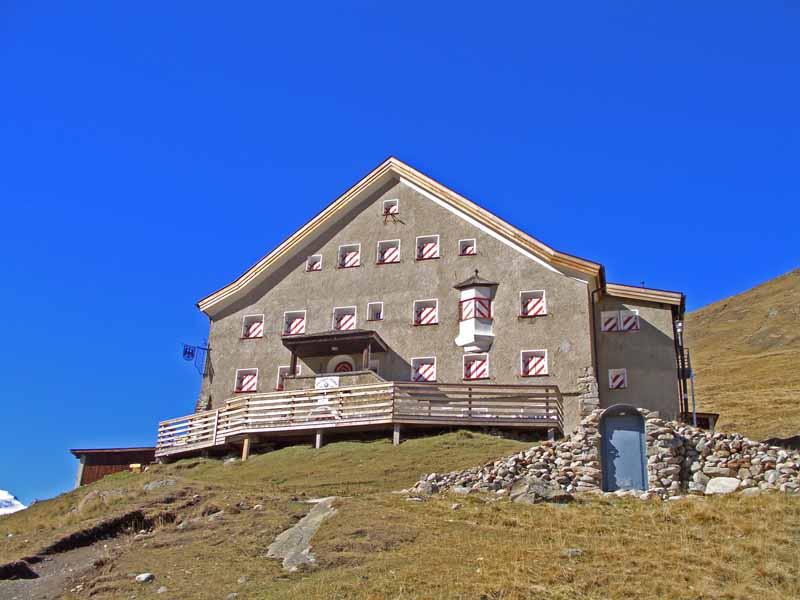 Foto 1 zur Tour: Wanderung zum Hochjoch-Hospiz