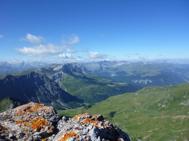 Foto 2 zur Tour: Weissfluh � Gipfelspaziergang mit Panoramablick