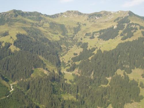 Foto: hofchri / Mountainbike Tour / Hundstein-Runde / im Bereich der Lohningalm / 07.07.2009 19:33:09