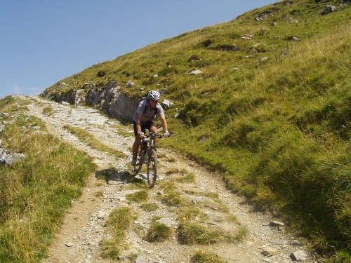 Foto: hofchri / Mountainbike Tour / Hundstein-Runde / Downhill nach Thumersbach / 07.07.2009 19:37:10