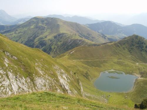 Foto: hofchri / Mountainbike Tour / Hundstein-Runde / im Gipfelbereich / 07.07.2009 19:34:54