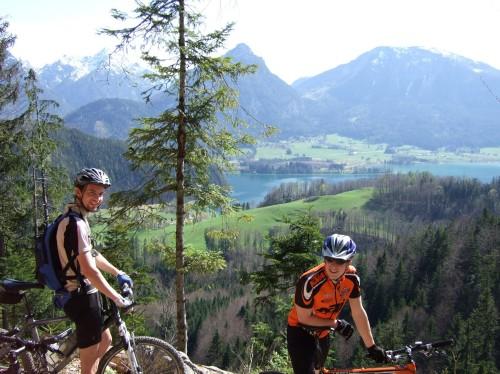 Foto: hofchri / Mountainbike Tour / Rund um den Schafberg - über den Falkenstein / 06.07.2009 19:54:26