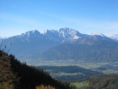 Foto: hofchri / Mountainbike Tour / Rund um den Schlenken / der Hohe Göll / 07.07.2009 18:36:39