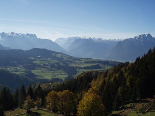 Foto: hofchri / Mountainbike Tour / Rund um den Schlenken / tolles Panorama / 07.07.2009 18:39:42