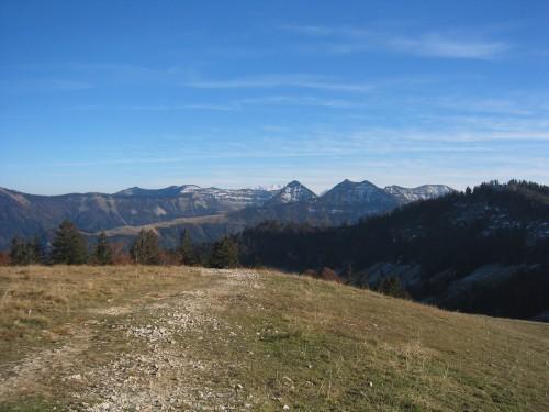 Foto: hofchri / Mountainbike Tour / Rund um den Schlenken / Nach dem letzten schweren Ansteig auf die Anzenberghöhe / 07.07.2009 18:41:53