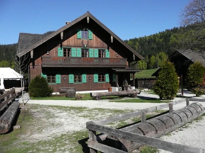 Foto: Lenswork.at / Ch. Streili / Mountainbiketour / Bad Goisern-Bad Ischl-Altaussee Rundtour / Blaa Alm / 15.05.2008 21:07:25