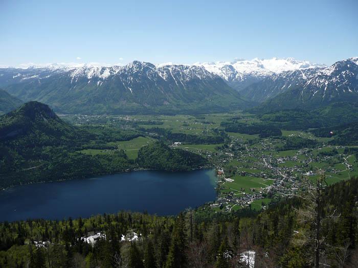 Foto: Lenswork.at / Ch. Streili / Mountainbike Tour / Bad Goisern-Bad Ischl-Altaussee Rundtour / Blick auf Altaussee / 15.05.2008 21:07:41