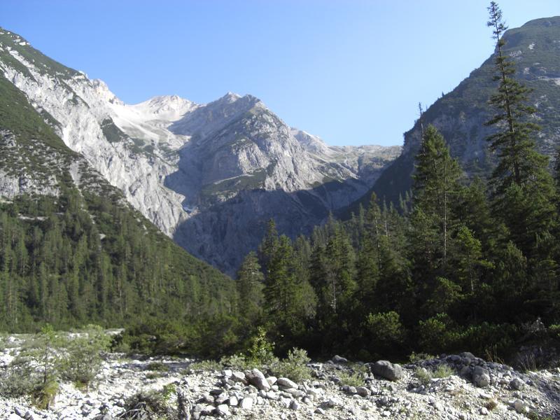 Foto: Charly Weigarten / Mountainbike Tour / Durch das Hinterautal auf die Kastenalm, 1220m / Auf dem Weg zur Kastenalm / 16.08.2009 16:02:07