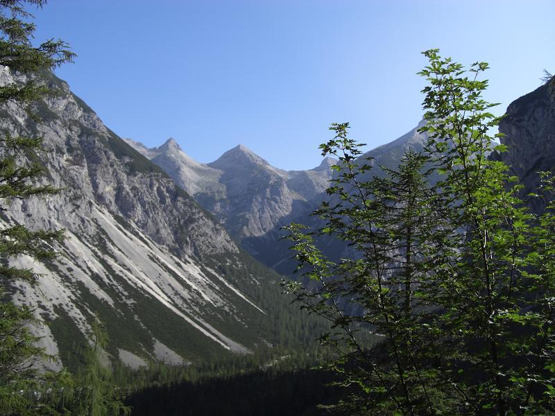 Foto: Charly Weigarten / Mountainbike Tour / Durch das Hinterautal auf die Kastenalm, 1220m / Blick Richtung Kastenalm / 16.08.2009 16:04:04