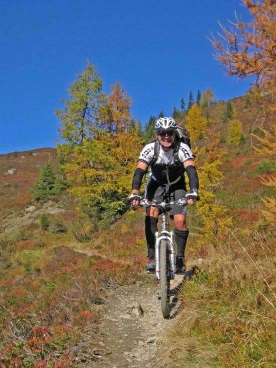 Foto: forstpointler / Mountainbike Tour / Von Maria Alm auf den Hundstein / einfach nur schön.......... / 11.09.2009 15:42:40