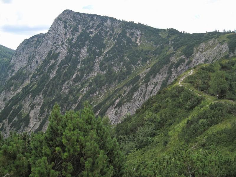 Foto: Heidi Schützinger / Mountainbike Tour / Iglmoosrunde / von der Goiserer Hütte kann man noch eine Wanderung auf den Hoch Kalmberg anhängen. / 08.08.2010 16:23:06