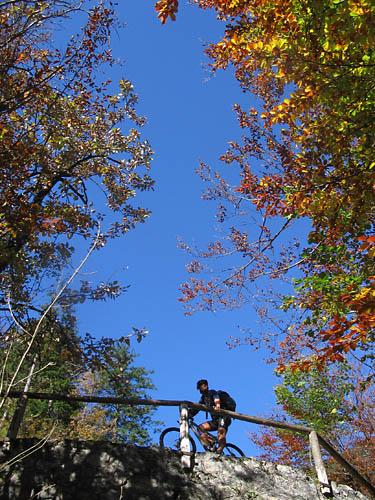 Foto: Lenswork.at / Ch. Streili / Mountainbiketour / Jochalm-Route (Lammertal.info) / 26.09.2007 15:32:09