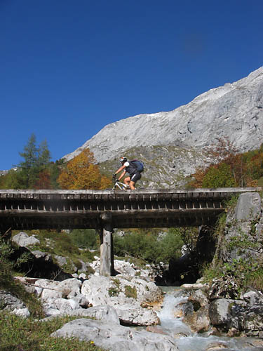 Foto: Lenswork.at / Ch. Streili / Mountainbiketour / Jochalm-Route (Lammertal.info) / 26.09.2007 15:31:46