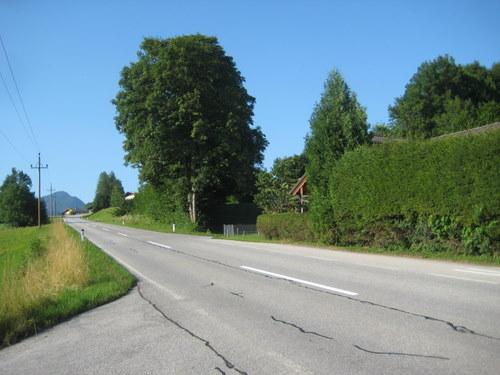 Foto: http / Mountainbiketour / Schlenken-Route (Lammertal.info) / Die Abzweigung Richtung Höllwengleiten ist etwas versteckt, aber gut gekennzeichnet / 22.07.2010 20:02:09