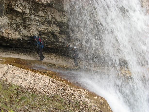 Foto: mucho / Mountainbike Tour / Naturparkrunde - Fanes Sennes Prags - ab St. Vigil / Fanes Wasserfall / 12.10.2007 21:04:45