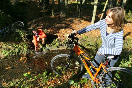 Foto: Ferienregion Böhmerwald / Mountainbike Tour / Schwemmkanal-Runde / Foto: Weissenbrunner