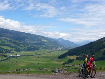 Foto: Tourismusverband Uttendorf/Weißsee / Mountainbiketour / Scheibelbergrunde / Scheibelbergrunde / 17.12.2007 11:43:29