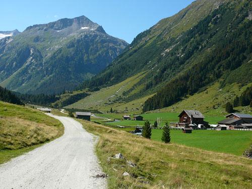 Foto: Radlfahrer / Mountainbike Tour / Krimmler Achental / 14.06.2010 15:04:27