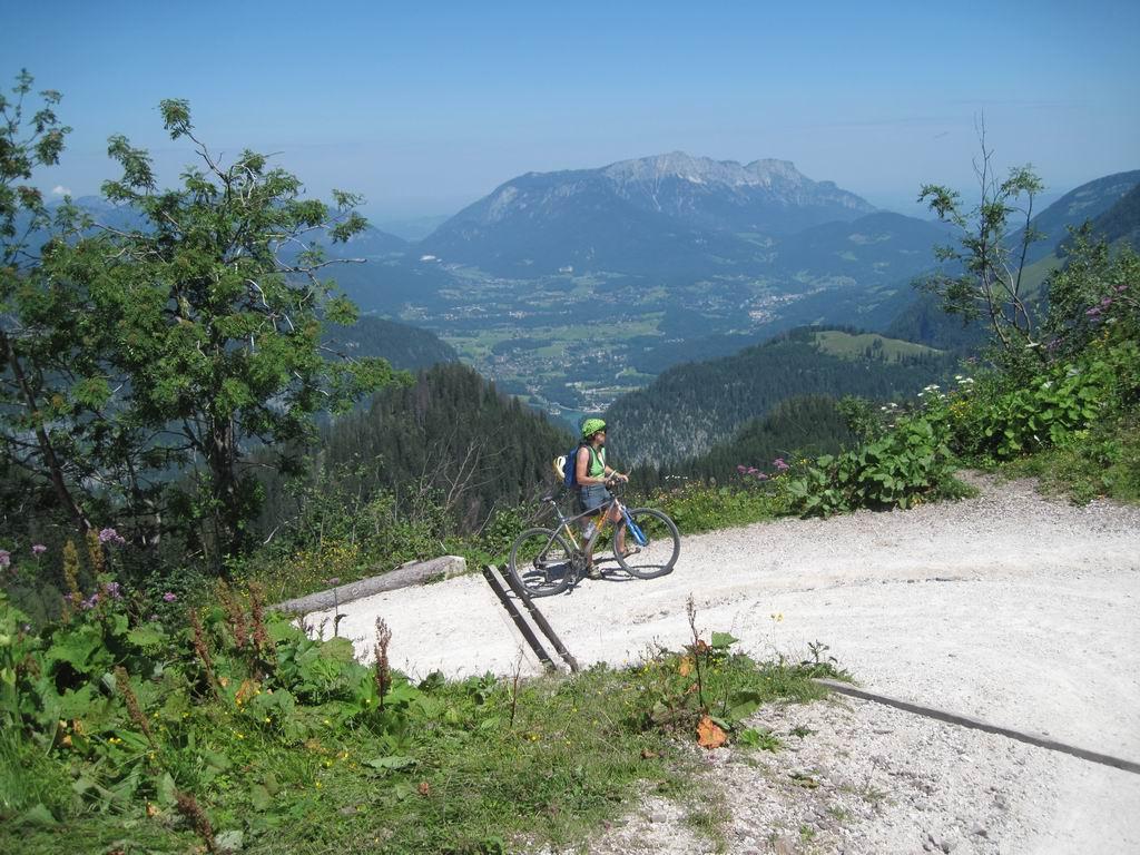 Foto: Heidi Schützinger / Mountainbike Tour / Echo / Die letzten  Höhenmeter waren für uns nur
