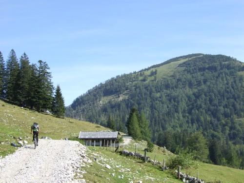 Foto: hofchri / Mountainbike Tour / Osterhorn Route / Richtung Hoher Zinken / 06.07.2009 19:44:45
