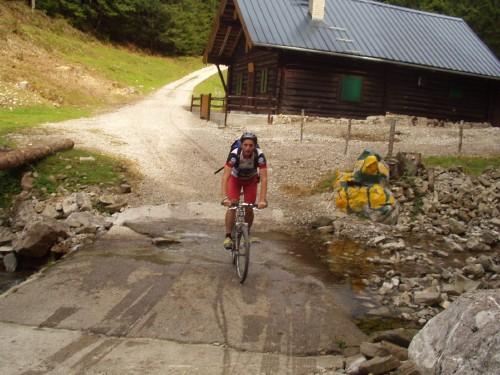 Foto: hofchri / Mountainbike Tour / Osterhorn Route / nach der rasanten Abfahrt im Ackersbachtal / 06.07.2009 19:45:21