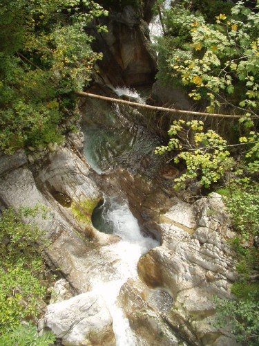 Foto: hofchri / Mountainbike Tour / Osterhorn Route / Wasserspiele an der alten Postalmstraße / 06.07.2009 19:45:39