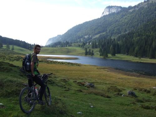 Foto: hofchri / Mountainbike Tour / Osterhorn Route / bei der Seewaldalm / 06.07.2009 19:48:07