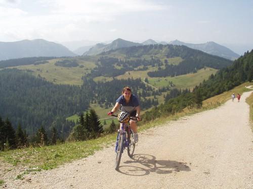 Foto: hofchri / Mountainbike Tour / Zwölferhorn -  / Auffahrt von der Stubneralm / 07.07.2009 18:58:11