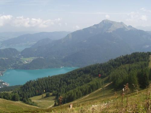 Foto: hofchri / Mountainbike Tour / Zwölferhorn -  / Schafberg und Wolfgangsee / 07.07.2009 18:58:35