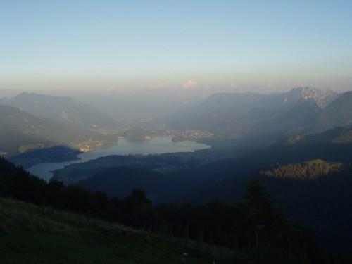 Foto: hofchri / Mountainbike Tour / Zwölferhorn -  / Abendstimmung - wenig Touristen, nachdem die Seilbahn eingestellt ist. / 07.07.2009 18:59:24