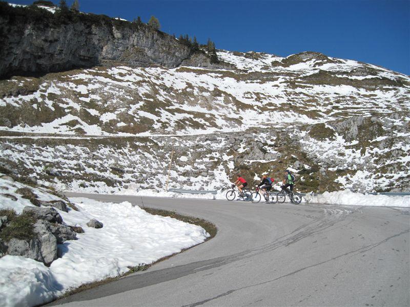 Foto: Heidi Schützinger / Mountainbike Tour / Loserstraße / Gemütliche Biketour mit herrlichen Ausblicken  / 15.10.2011 18:11:00