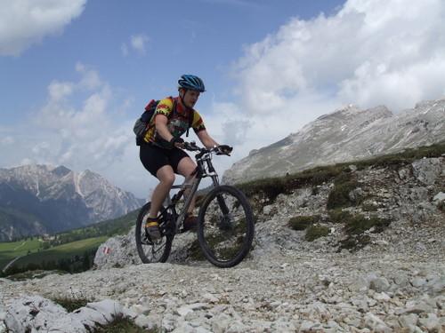 Foto: gkothi / Mountainbike Tour / Plätzwiesen / gemütliche auffahrt von der dürrensteinhütte zum heimkehrerkreuz / 28.02.2008 20:43:49