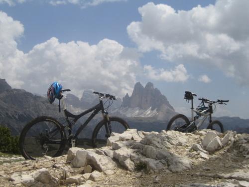 Foto: gkothi / Mountainbike Tour / Plätzwiesen / unsere bikes / 28.02.2008 20:44:41