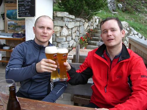 Foto: gkothi / Mountainbike Tour / Plätzwiesen / auf ein weizen / 28.02.2008 20:45:15