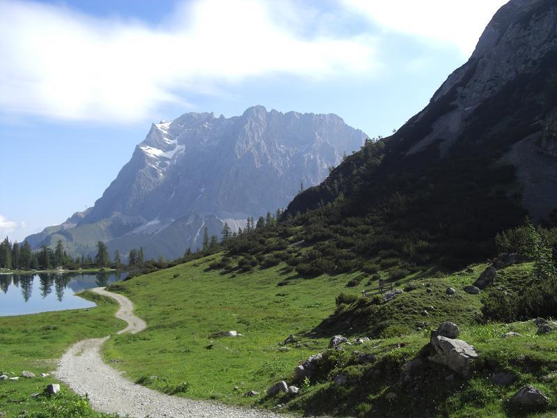 Foto: Charly Weigarten / Mountainbike Tour / Zum Seebensee / Vom Seebensee zur Zugspitze / 02.08.2009 17:17:37