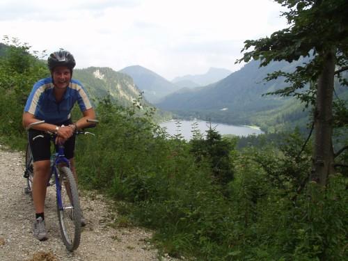 Foto: hofchri / Mountainbike Tour / Von Neukirchen zu den Langbathseen / bei der Abfahrt vom Pass Lueg / 06.07.2009 19:32:10