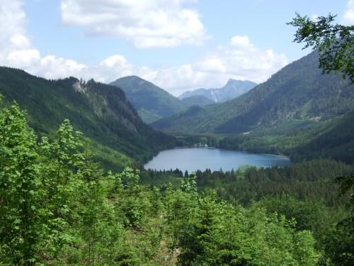 Foto: hofchri / Mountainbiketour / Von Neukirchen zu den Langbathseen / Blick zum Vorderen Langbathsee / 06.07.2009 19:32:32
