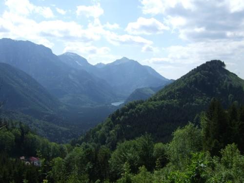 Foto: hofchri / Mountainbike Tour / Von Neukirchen zu den Langbathseen / Bei der Überfahrt zur Hochsteinalm, vorbei am Sonnstein / 06.07.2009 19:35:06