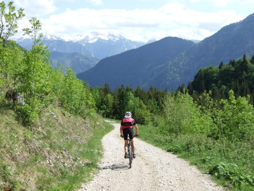 Foto: hofchri / Mountainbike Tour / Von Neukirchen zu den Langbathseen / 06.07.2009 19:35:43