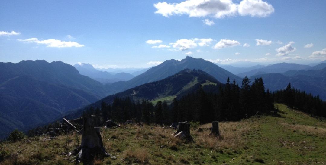 Foto: Martin Reingruber / Mountainbike Tour / Siebenhütte - Kitzhütte / Von der Turnhöhe (1439) hat man einen guten 360 Grad Rundumblick. / 18.09.2012 17:58:45