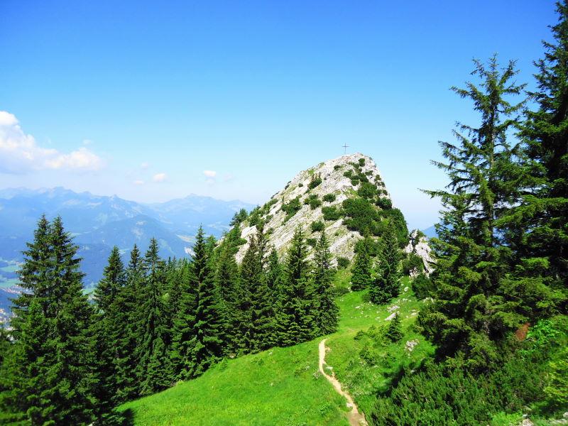 Foto: Günter Siegl / Wander Tour / Naunspitze über Vorderkaiserfeldenhütte / Gipfelaufbau Naunspitze / 22.07.2016 17:35:47