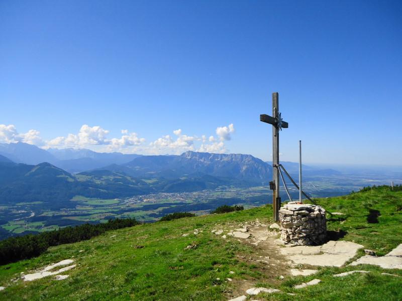 Foto: Günter Siegl / Wander Tour / Schlenken - Schmittenstein - Überschreitung / Schlenken und Hallein / 26.09.2014 19:29:14