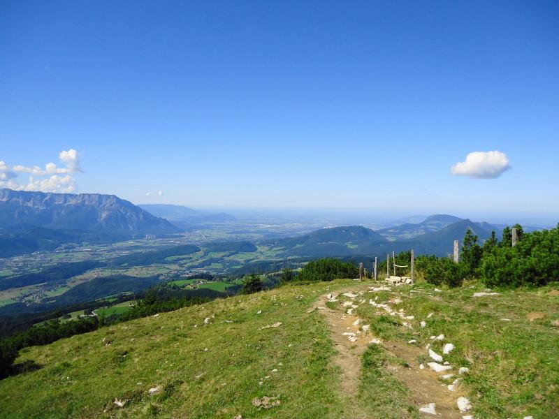 Foto: Günter Siegl / Wander Tour / Schlenken - Schmittenstein - Überschreitung / Blick nach Salzburg / 26.09.2014 19:28:57