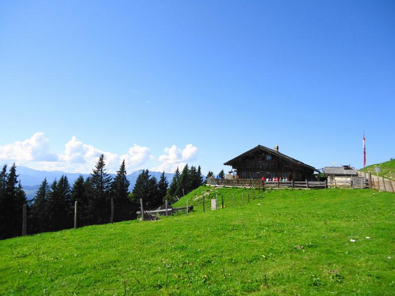 Foto: Günter Siegl / Wander Tour / Schlenken - Schmittenstein - Überschreitung / Schlenkenalm / 26.09.2014 19:25:34