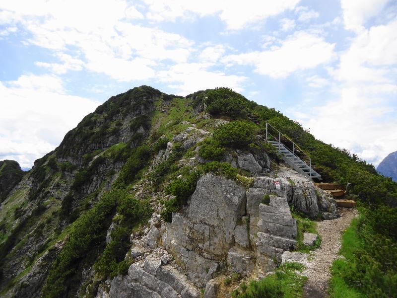 Foto: Günter Siegl / Wandertour / Unterberghorn von Kössen / Gipfelaufbau / 19.06.2016 18:44:15