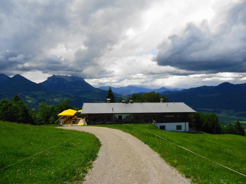 Foto: Günter Siegl / Wandertour / Unterberghorn von Kössen / Scheibenwaldhütte / 19.06.2016 18:45:28