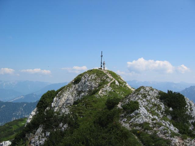 Foto: pepi4813 / Wander Tour / Plassen von Hallstatt / Am Gipfel des Plassen / 18.07.2009 18:41:15